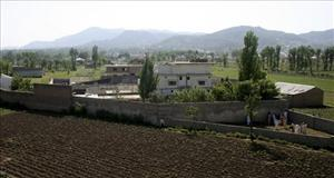 This May 3, 2011 file photo shows a view of Osama bin Laden's compound in Abbottabad, Pakistan, the day after a US military raid that ended with the death of the al-Qaeda leader Osama bin Laden.
