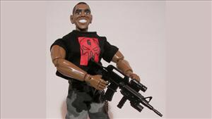 President Obama's Navy SEAL action figure.