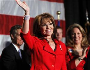 Sarah Palin will hit the road on Sunday.
