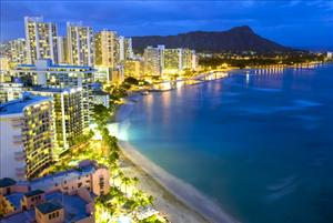Hawaii has the lowest percentage of people who are stressed a lot of the day.