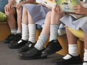 One Glasgow school thinks uniforms 'protect' children from sexual predators.