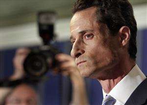 Rep. Anthony Weiner, D-N.Y., addresses a news conference in New York,  Monday, June 6, 2011.