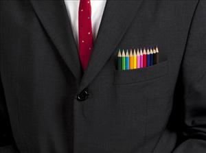 Roughly half of gay Americans keep their rainbow flag furled at work.