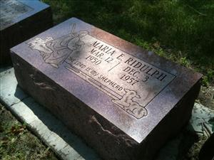 The body of Maria Ridulph has been exhumed at Elmwood Cemetery in Illinois to seek more clues in a case against her suspected murderer.