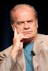 Actor Kelsey Grammer speaks during the 'Boss' panel during the Starz portion of the 2011 Summer TCA Tour held at the Beverly Hilton Hotel on July 29, 2011 in Beverly Hills, California.