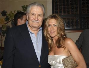 John Aniston and daughter  Jennifer Aniston  attend the after party following the world premiere of Universal Pictures 'The Break-Up' at the Napa Grille on May 22, 2006 in Westwood, California.