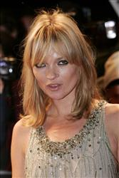 British model Kate Moss attends the Swarovski Fashion Rocks, held at the Royal Albert Hall, London, Thursday, Oct. 18, 2007.