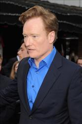 WESTWOOD, CA - JUNE 08:  Television host Conan O'Brien arrives at the premiere of Paramount Pictures' 'Super 8' at Regency Village Theatre on June 8, 2011 in Westwood, California.