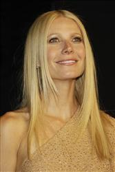 Gwyneth Paltrow arrives at the Vanity Fair Oscar Party at the Sunset Tower in Los Angeles, Calif., Sunday, Feb. 27, 2011.