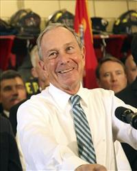 Mayor Bloomberg: He's trying.