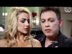 Courtney Stodden, then 16, gets gross with actor husband Doug Hutchison.