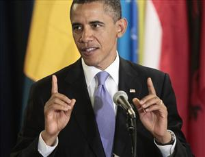 President Barack Obama attends a luncheon at the UN Building, Wednesday, Sept., 21, 2011.