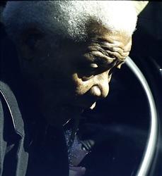 Former South African President, Nelson Mandela.