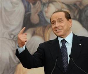 Silvio Berlusconi speaks at the Villa Madama in Rome, June 13, 2011.
