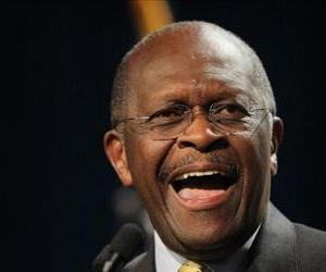Herman Cain speaks to a gathering of conservative Christians at the Iowa Faith & Freedom Coalition Presidential Forum on October 22, 2011 in Des Moines.