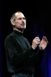 Steve Jobs in a 2008 file photo.