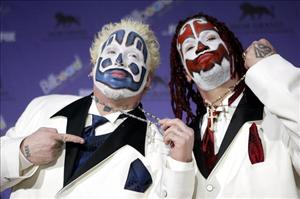 The Insane Clown Posse.