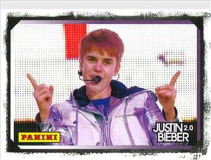 New card set from Panini America offers chance at Justin Bieber-worn clothing.