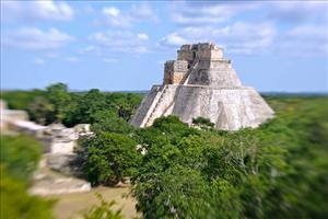 Mayan pyramid at Uxmal in the Yucatan. Did the Mayans know something we don't?