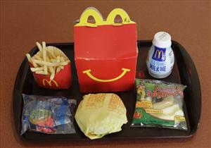 Even the 'healthier' Happy Meals introduced earlier this year don't come close to meeting San Francisco's guidelines.