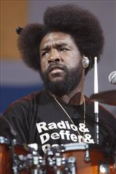 Ahmir Questlove Thompson with The Roots performs during an Independence Day celebration in Philadelphia, Sunday, July 4, 2010.