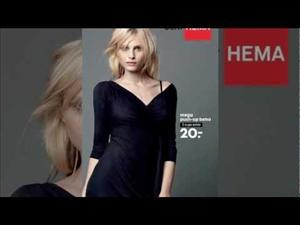 Andrej Pejic is featured in a Hema ad.