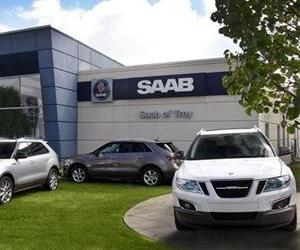 Saab's all-new 9-4X Crossover Arrives in Dealer showrooms.