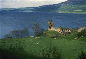 The undated file photo shows Scotland's Loch Ness.