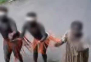 Jarawa people were ordered to dance for food.