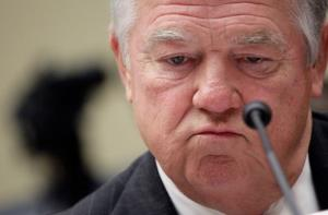 Mississippi Gov. Haley Barbour testifies before the House Oversight and Government Reform Committee on Capitol Hill June 2, 2011.