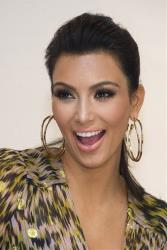 In this Sept. 21, 2011 file photo, Kim Kardashian appears at Bloomingdale's to promote her Belle Noel jewelry line, in New York.