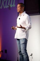 Tony Hsieh, CEO of online retailer Zappos.
