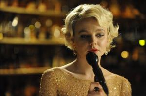 In this film publicity image released by Fox Searchlight Films, actress Carey Mulligan portrays Sissy in a scene from Shame.