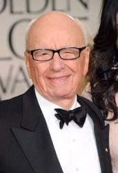 Rupert Murdoch arrives at the 69th Annual Golden Globe Awards on January 15, 2012 in Beverly Hills, California.