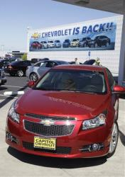 GM's Chevrolet brand set a sales record of 4.76 million vehicles last year.