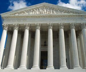 The US Supreme Court is seen in this October 1, 2010 file photo in Washington, DC.