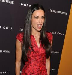 Demi Moore attends the 'Margin Call' premiere in Manhattan last year.
