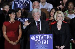 '46 States to Go' is Newt's new mantra.