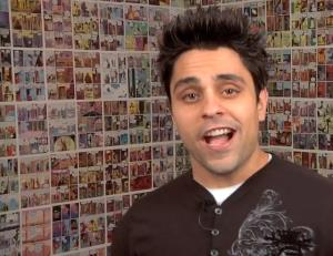 A screen grab from a RayWilliamJohnson video.