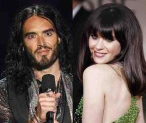 Russell Brand and Zooey Deschanel: a match in the making?