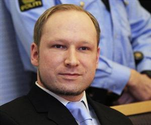 Anders Behring Breivik, a right-wing extremist who confessed to a bombing and mass shooting that killed 77 people on July 22, 2011, arrives for a detention hearing today in Oslo, Norway.
