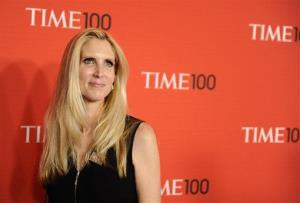 Journalist Ann Coulter attends the Time 100 Gala, celebrating the 100 most influential people in the world, on Tuesday, April 26, 2011, in New York.