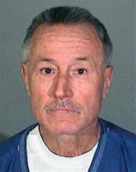 In this undated police booking photo released by the Los Angeles Sheriff's Department shows former Los Angeles teacher Mark Berndt, 61.