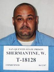In this undated file photo provided by the California Department of Corrections, death-row inmate Wesley Shermantine is shown.
