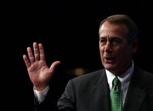 John Boehner addresses the annual Conservative Political Action Conference on Feb. 9 in Washington.
