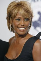 In this Oct. 28, 2006, file photo, singer Whitney Houston arrives at the 17th Carousel of Hope Ball benefiting the Barbara Davis Center for Childhood Diabetes in Beverly Hills, Calif.