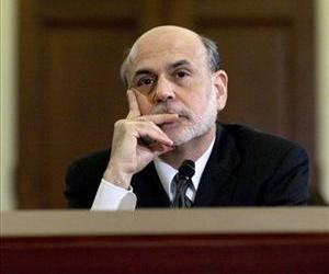 Federal Reserve Chairman Ben Bernanke testifies on Capitol Hill in Washington, Thursday, Feb. 2, 2012, before the House Budget Committee.