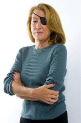 This is an undated image made available Wednesday Feb. 22, 2012  by the Sunday Times in London of  journalist Marie Colvin.