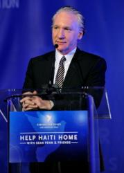 Bill Maher donated $1 million to President Obama's Super PAC.