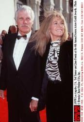 3/8/98 Los Angeles, CA. Ted Turner and Jane Fonda at the 4th Annual Screen Actors Guild Awards.